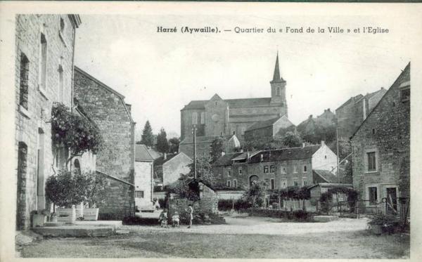 Fond de la Ville et église